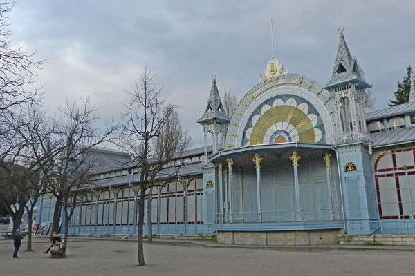 Im Kurpark von Pjatigorsk
