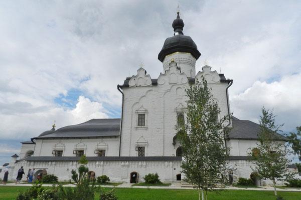 Das Himmelfahrtskloster von Swijaschsk ist seit 2017 Unesco-Welterbe.