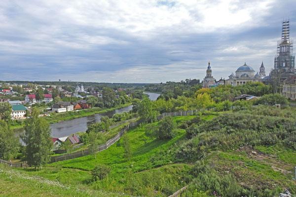 Blick auf das Boris-und-Gleb-Kloster