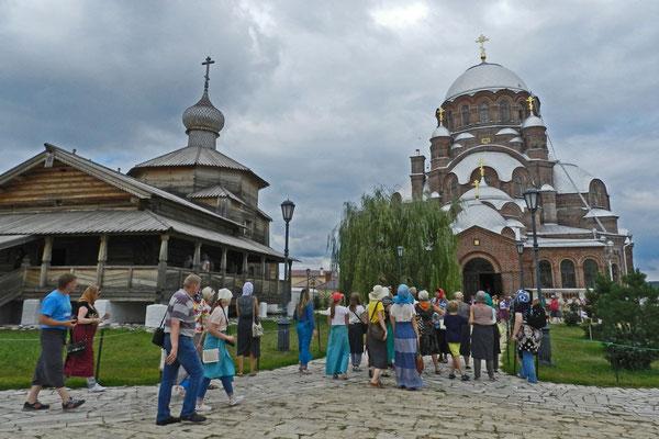 Im Kloster St. Johannes der Täufer