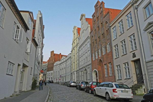 Улица в центре Любека.