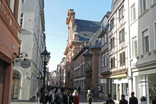 Улица Августинцев в Майнце