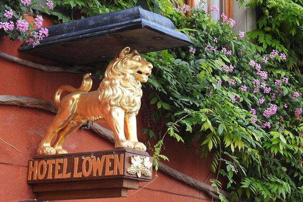 В центре Мерсбурга много старинных ресторанчиков и гостиниц
