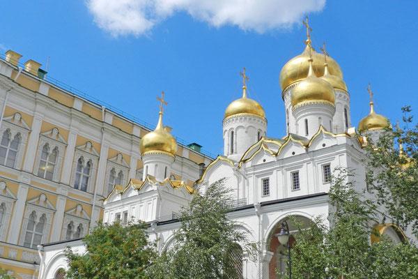 Die Mariä-Verkündigungs-Kathedrale war Hauskirche der Zaren.