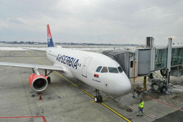 """""""Air Serbia"""" hat häufig günstige Tickets nach Moskau."""
