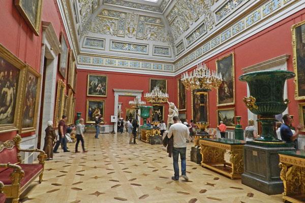 Drei Millionen Kunstwerke besitzt die Eremitage