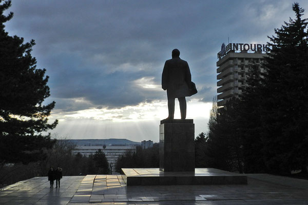 Lenin wacht über Pjatigorsk.