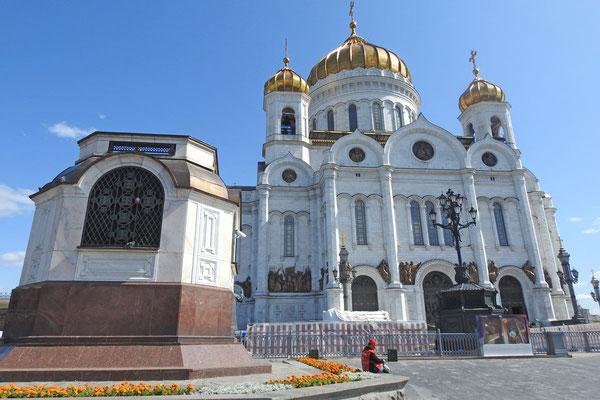 Die prunkvolle Christerlöser-Kathedrale