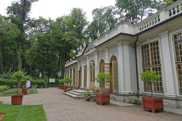 Die Orangerie des Petersburger Sommergartens