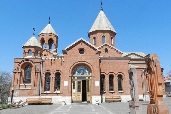 Die armenische Kirche aus dem 19. Jahrhundert
