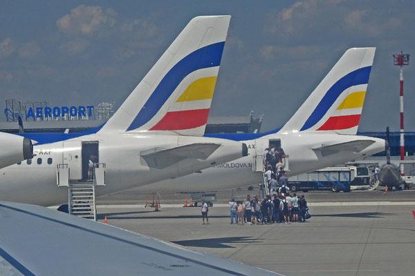 Nach der Landung: Der erste Blick auf Moldawien