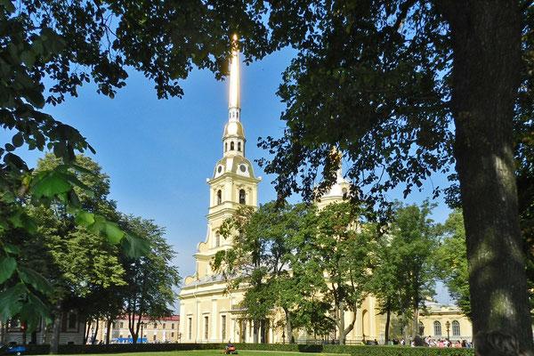 In der Kirche liegen die meisten Zaren der Romanow-Dynastie begraben.