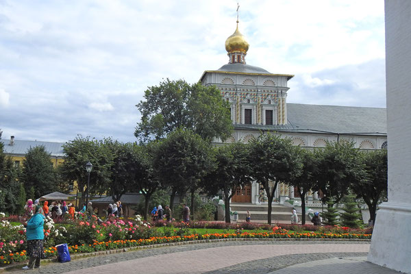 Das Gebäude des Mönchsrefektoriums