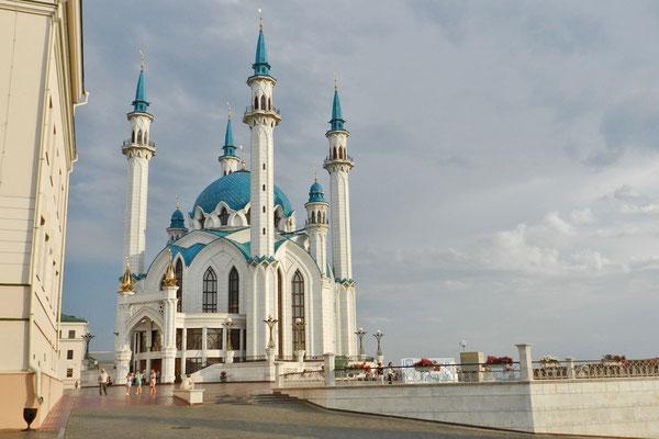Die Kul-Scharif-Moschee erinnert an einen Verteidiger der Stadt Kasan.