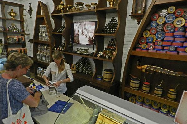 Die Delikatesse hat auch in Astrachan ihren Preis.