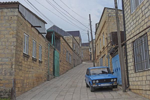 Verwirrende Gassen prägen die Altstadt von Derbent