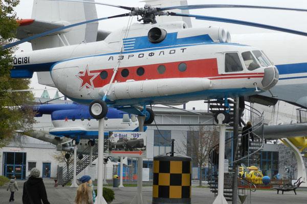 Sowjet-Hubschrauber in Speyer