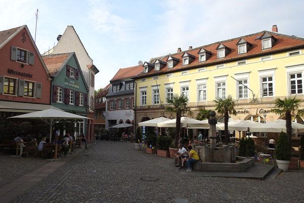 Одна из центральных площадей города