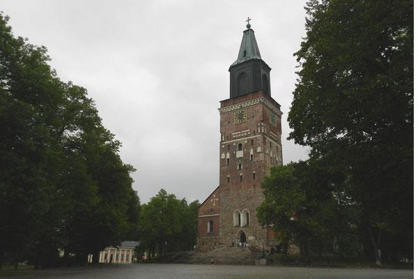 Der Dom von Turku in Finnland