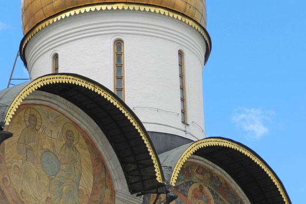Detailaufnahme der Maria-Entschlafens-Kathedrale