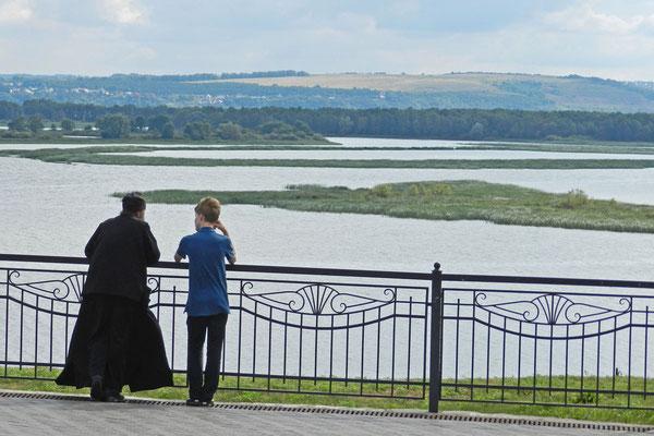 Zwiegespräch mit einem Mönch des Männerklosters von Swijaschsk