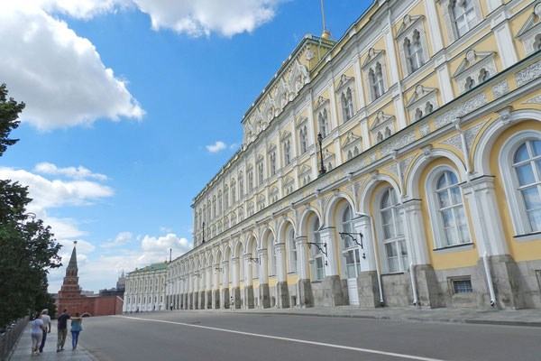 Der Große Kremlpalast bleibt Staatsgästen vorbehalten