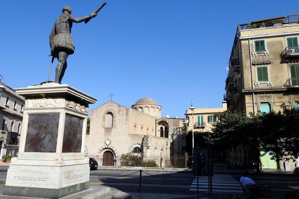 Im Stadtzentrum von Messina
