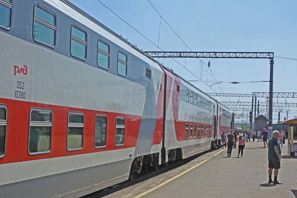 Express-Zug Kislowodsk-Moskau