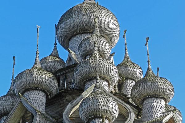 Kuppeln der weltberühmten Verklärungskirche