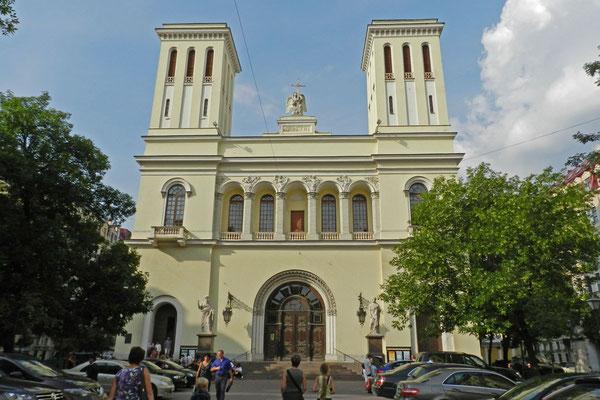 Die Petersburger Petrikirche