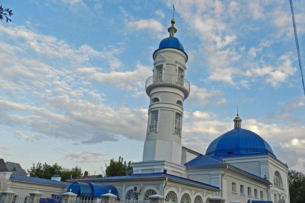 Die Weiße Moschee von 1810 ist das älteste islamische Gotteshaus in Astrachan.