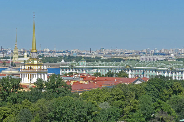 Petersburger Pracht - Admiralität und Winterpalast