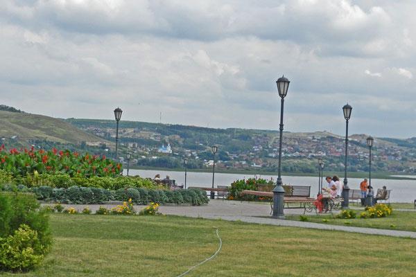 Neue Parkanlage am Swijaga-Ufer
