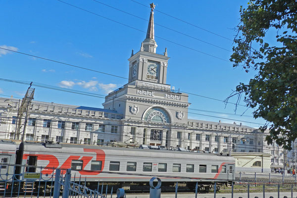 Hauptbahnhof von Wolgograd