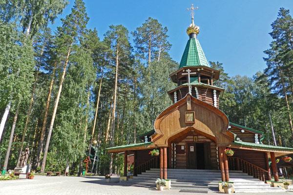 Für jedes Familienmitglied steht dort eine Kirche.