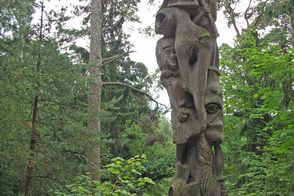 Der Hexenberg bei Juodkrante ist ein geheimnisvoller Ort.