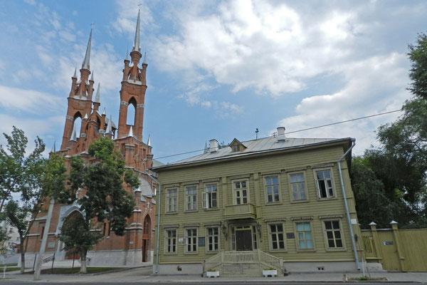 Die polnische Kirche von Samara