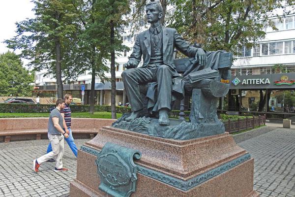 Denkmal für den tatarischen Dichter Tukai