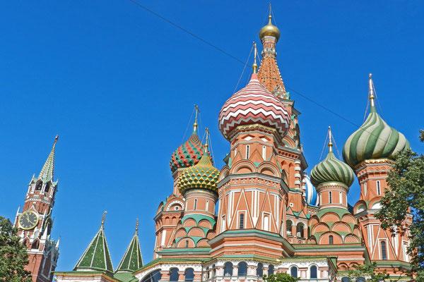 In Moskau reicht die Zeit, um den Roten Platz und andere Höhepunkte anzusteuern.