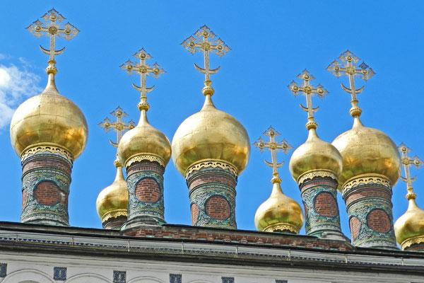 Türme der Hauskapelle des Terem-Palastes
