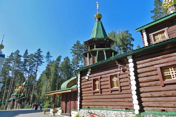 Für jedes Mitglied der ermordeten Zarenfamilie gibt es eine Kirche.
