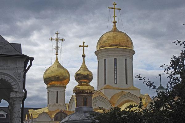 Die Dreifaltigkeitskirche mit den Reliquien des Heiligen