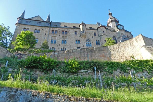 В замке жили гессенские ландграфы.