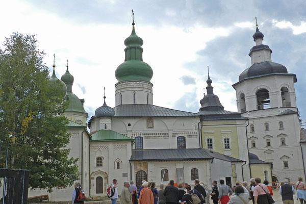 Im Kirillo-Beloserski-Kloster.