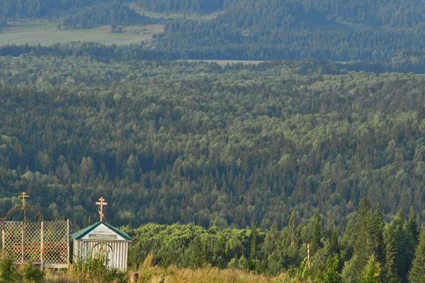Blick vom Weißen Berg bei Perm