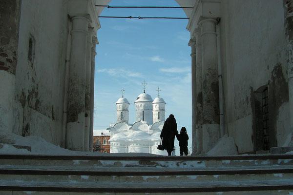 Am Tor zum Erlöser-Euthymios-Kloster