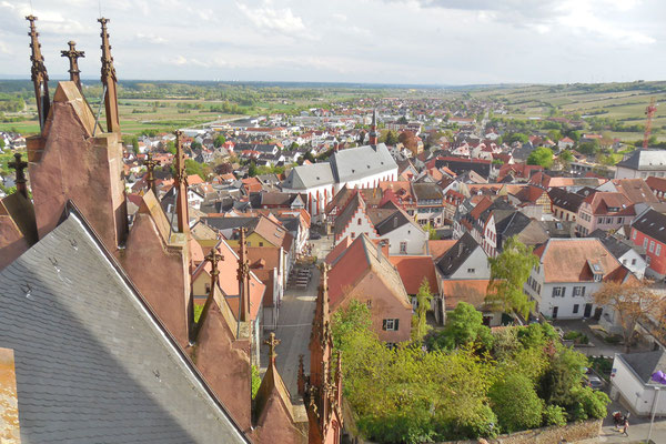 Вид на старый город с церковной башни