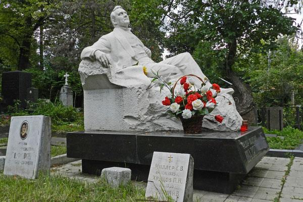 Neujungfrauenfriedhof: Grabmal von Fjodor Schaljapin