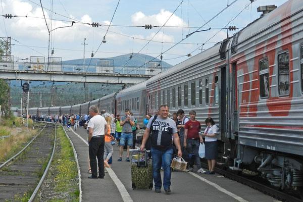 Aus dem Murmansker Gebiet fahren viele Menschen im Sommer in den Süden.