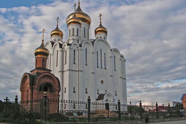 Das neue Wahrzeichen der Stadt: Die Stefan-von-Perm-Kathedrale